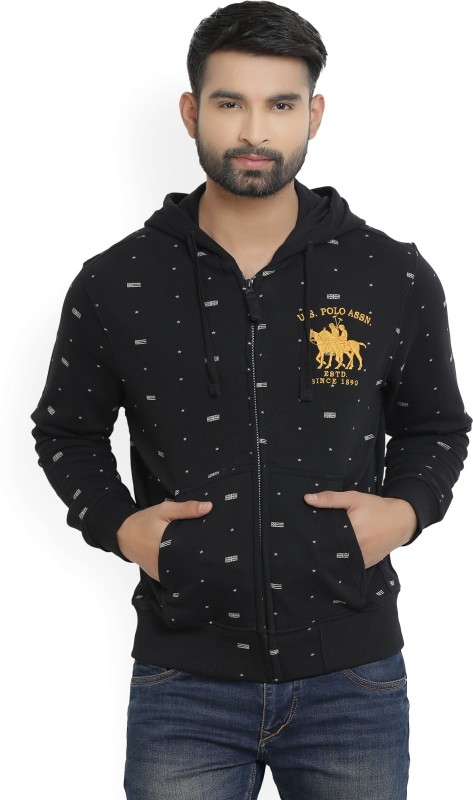 U.S. Polo Assn Full Sleeve Printed Mens Sweatshirt