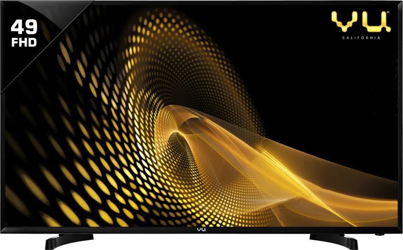 Vu 124cm (49 inch) Full HD LED TV(49D6575)