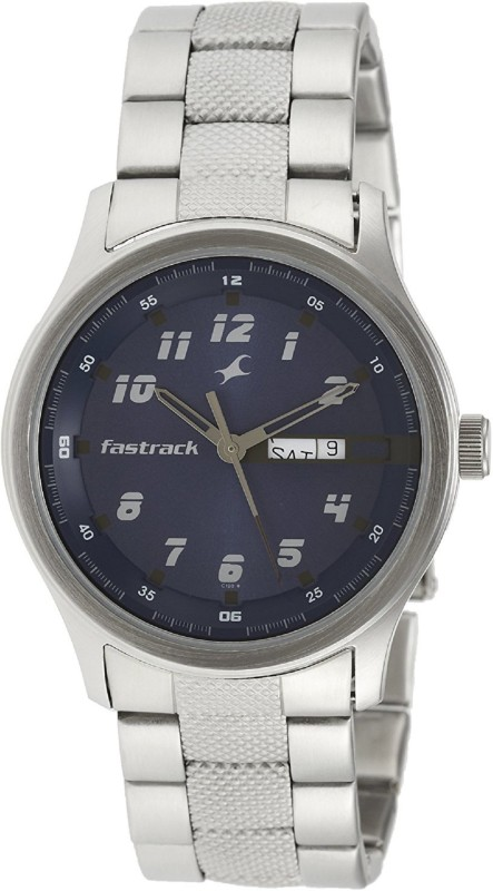 Fastrack NC3001SM02 Men's Watch image.
