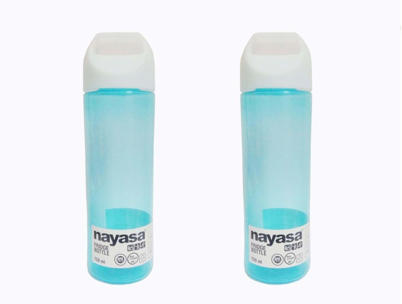 Nayasa Cool Fridge 750 ml Bottle(Pack of 2, Green)