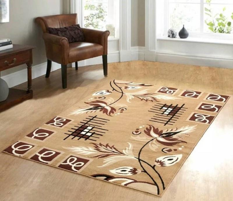 home BEST Multicolor Polypropylene Carpet(152 cm  X 212 cm)
