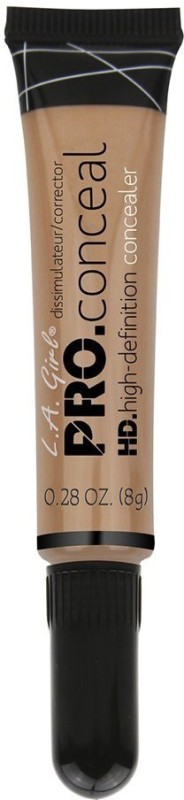 L.A. Girl L A Girl HD Pro Conceal, Warm Sand, 8g Concealer(Brown, 8)