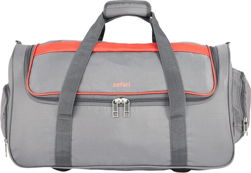 Safari (Expandable) GRIDDF55DFGRE Travel Duffel Bag(Grey)