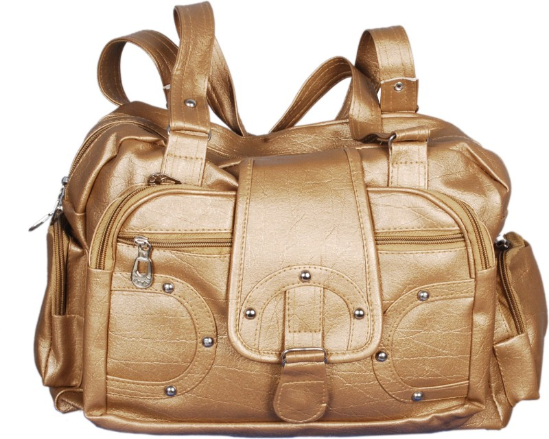 3NG Women Gold Hand-held Bag