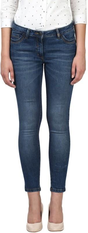 Park Avenue Slim Women Blue Jeans