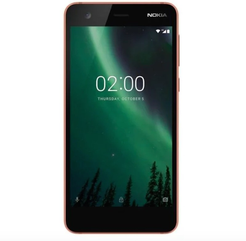Nokia 2 (Copper/Black, 8 GB)(1 GB RAM)