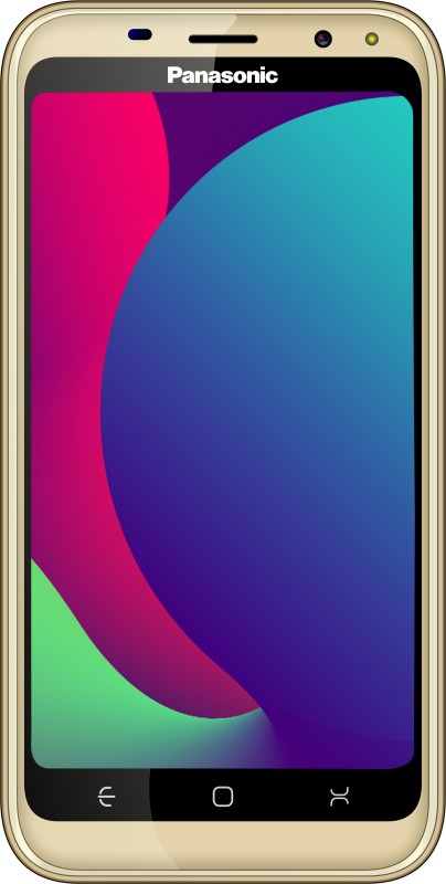 Panasonic P100 (Gold, 16 GB)(1 GB RAM)