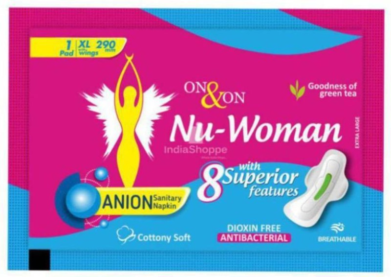 On&On Nu-Woman Sanitary Pad Sanitary Pad(Pack of 10)