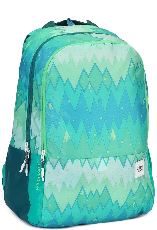 Wildcraft Wiki 1 Ombre 29.5 L Backpack(Blue, Green)