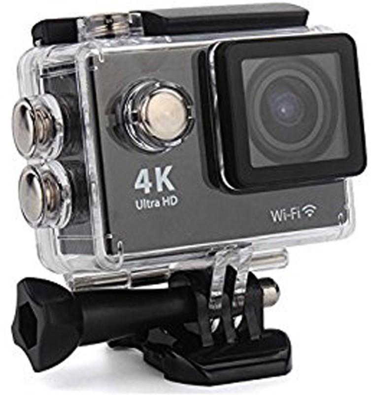 Hubert 4K Wi-Fi Sports Action Camera 20 Sports & Action Camera(Black)