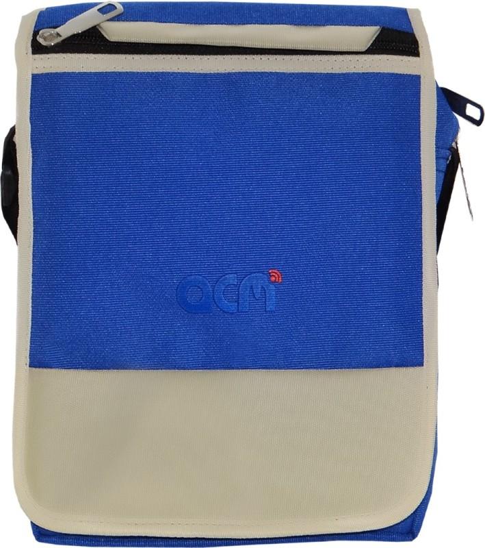 ACM Men & Women Blue Messenger Bag