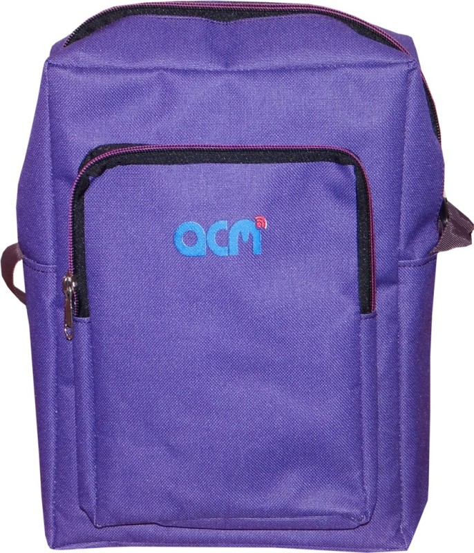 ACM Men & Women Purple Messenger Bag