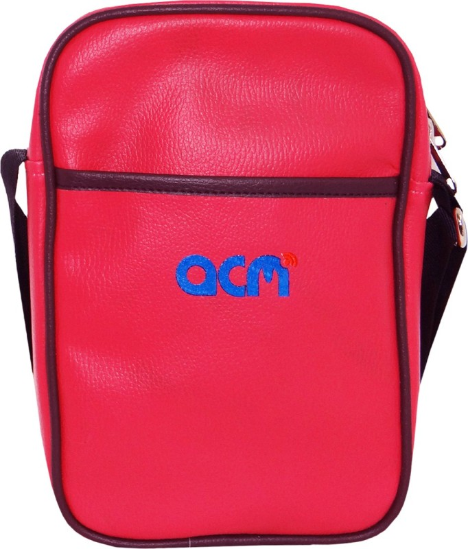 ACM Men & Women Pink Messenger Bag