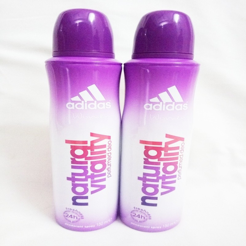 ADIDAS NATURAL VITALITY Deodorant Spray - For Women(300 ml, Pack of 2)