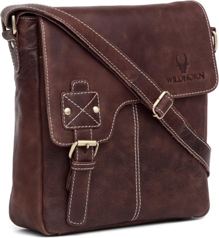 WildHorn Brown Sling Bag
