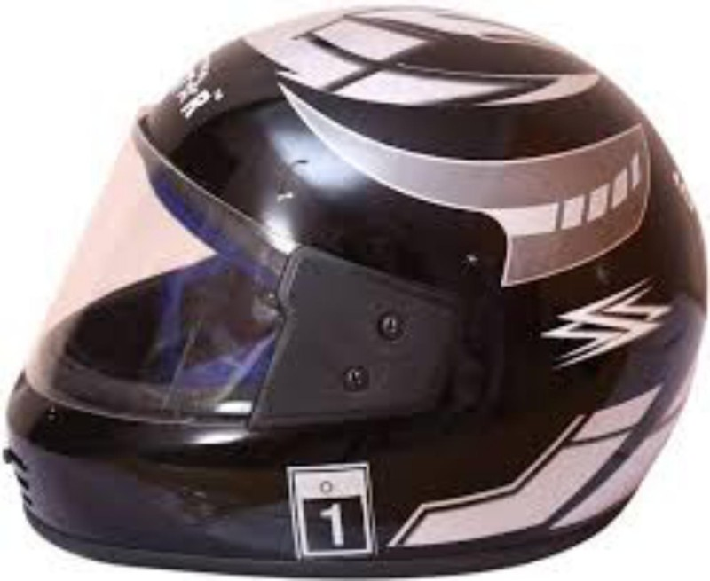 GTB ONIGQSTAR HELMET Motorbike Helmet(Black)