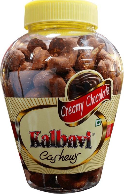 Kalbavi Cashews Creamy Chocolate Cashews(250 g)