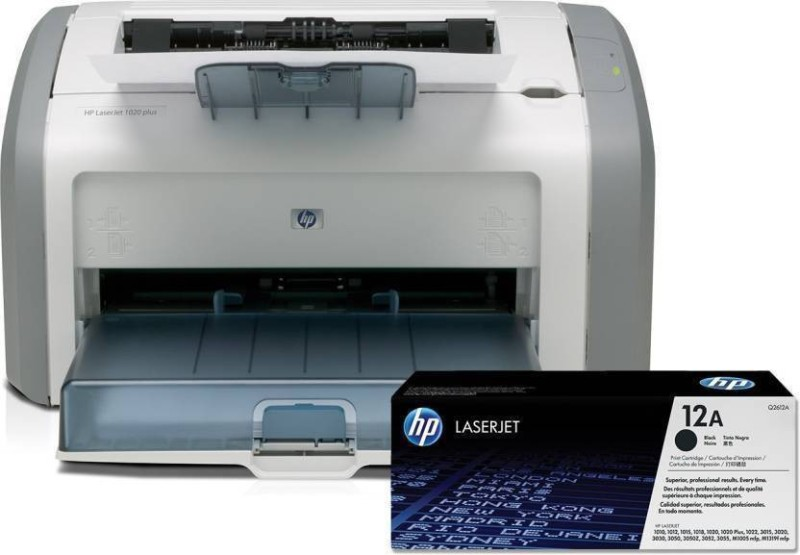 HP 1020 Single Function Printer(White)