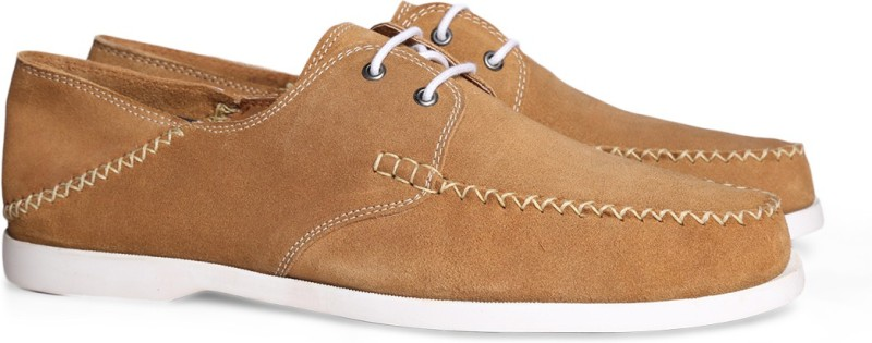 Bata KEEGAN Boat Shoes For Men(Beige)