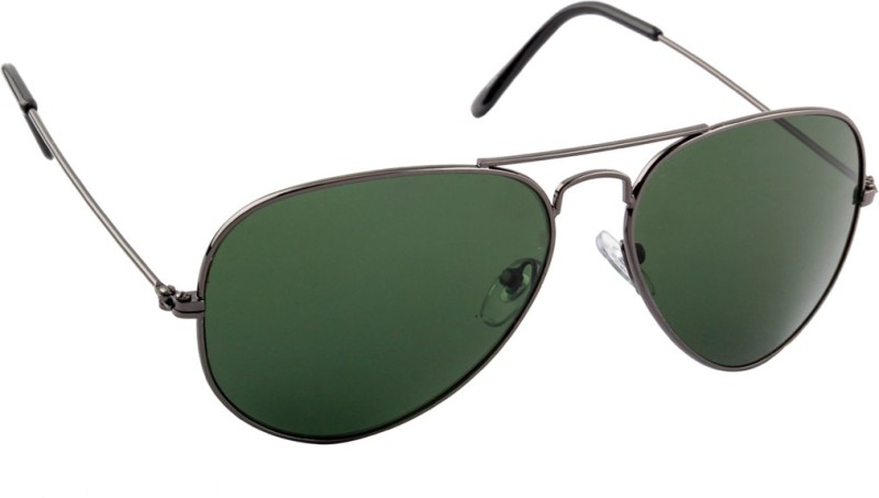 Irayz Aviator Sunglasses(Green)