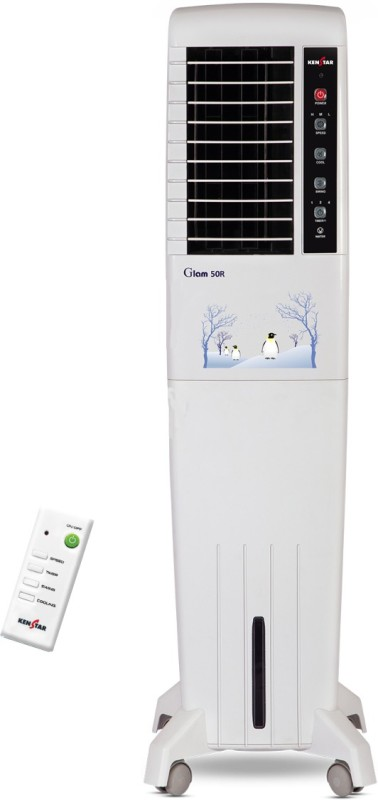 Kenstar 50 L Tower Air Cooler(White, GLAM 50 R (KCT5RF4H-EBA))