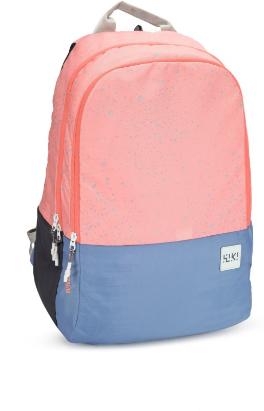Wildcraft Wiki 1 Spray 29.5 L Backpack(Pink, Blue)