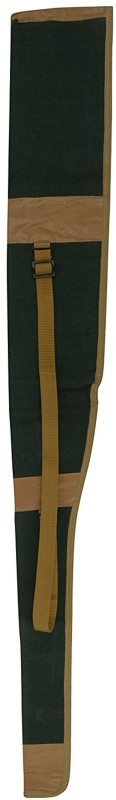 SHAH Unisex Canvas 32 Inches Gun cover Racquet Carry Case/Cover Free Size(Green)