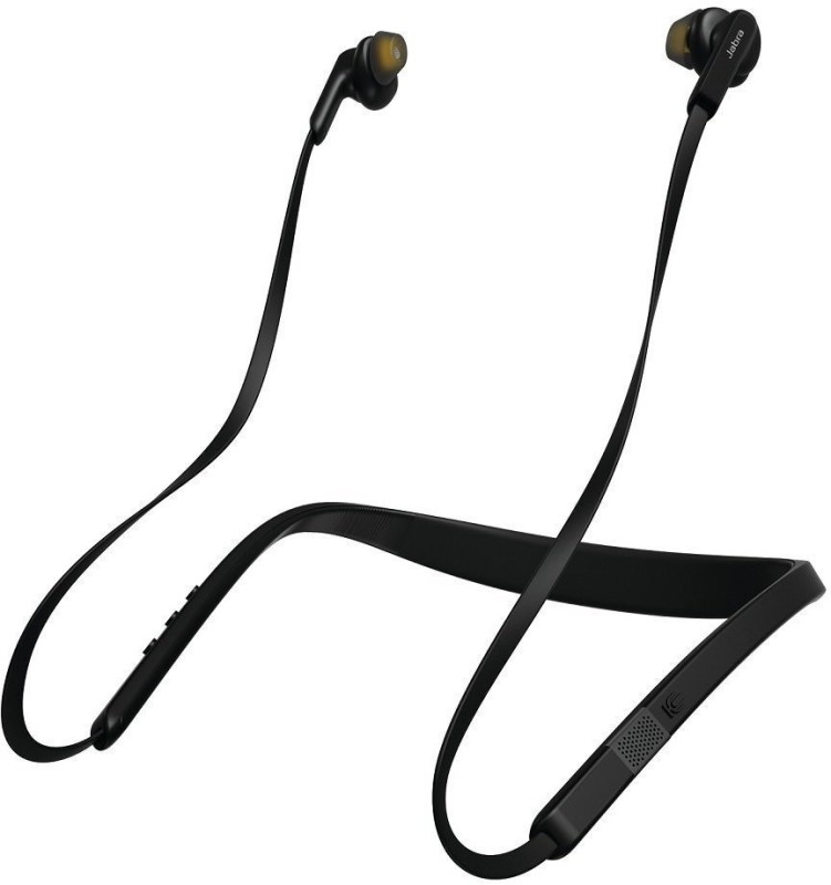 Jabra Elite 25E 100-98400000-40 Wireless Bluetooth Headphone (Black) Bluetooth Headset with Mic(Black, In the Ear)