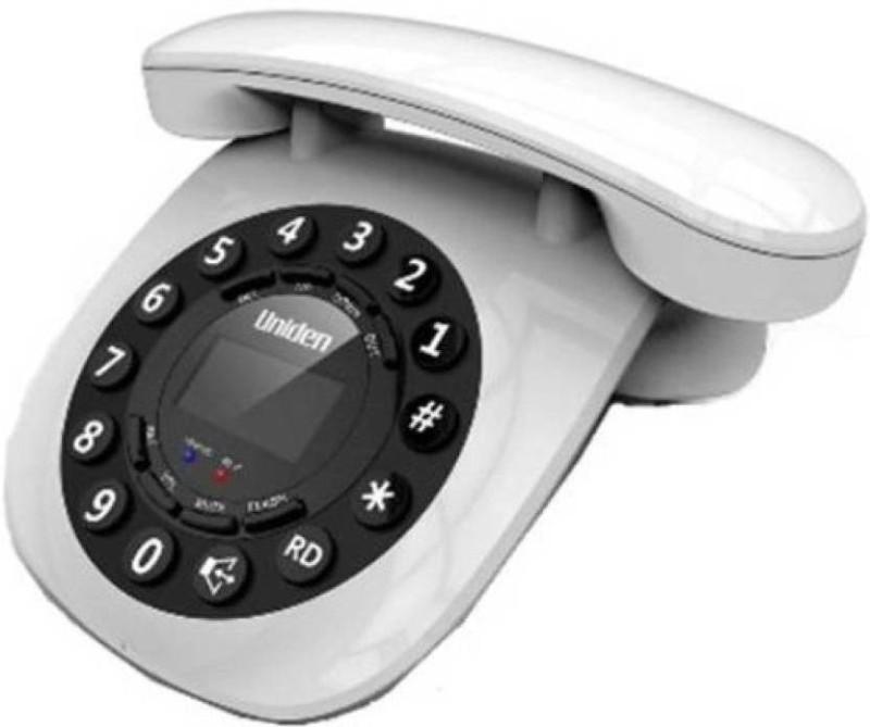 UNIDEN AT8601 Corded Landline Phone(White, Red, Black, Blue)