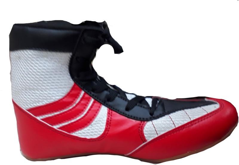STARPORT SPORTS Wrestling Shoes For Men(Red)