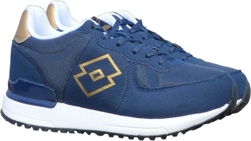 Lotto Rochester Running Shoes For Men(Navy, Tan)