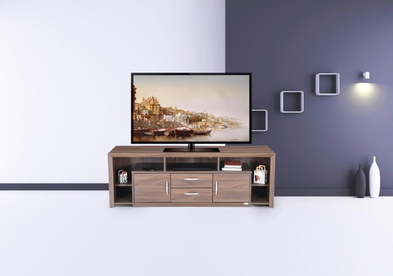 RoyalOak Magna Engineered Wood TV Entertainment Unit(Finish Color - Walnut)
