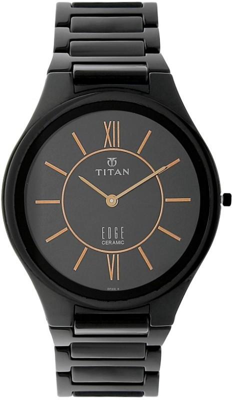 Titan 1696NC01 Edge Analog Watch - For Men