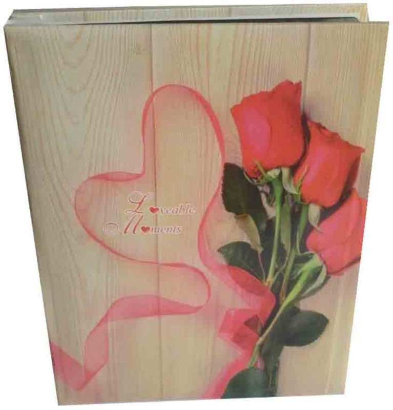 LOOK RED ROSE MULTI COLOR STYLISH PHOTO ALBUM ( SIZE 5 INCH* 7 INCH 100 PHOTO POCKETS) Album(Photo Size Supported: 5 INCH, 7 INCH)