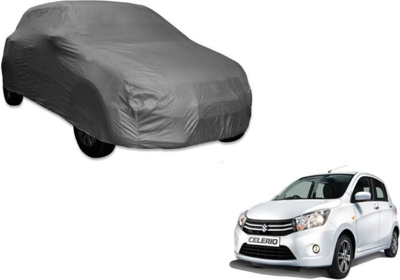 A K Traders Car Cover For Maruti Suzuki Celerio (Without Mirror Pockets)(Grey)