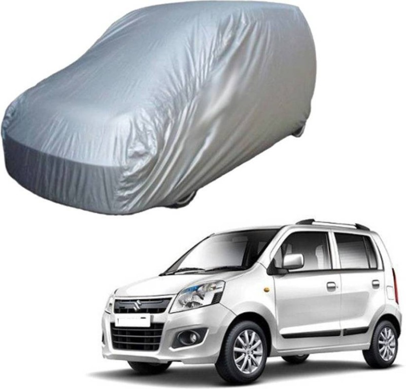 A K Traders Car Cover For Maruti Suzuki WagonR (Without Mirror Pockets)(Grey)