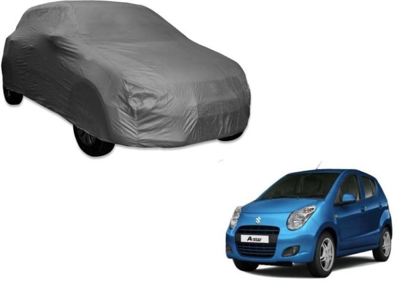 A K Traders Car Cover For Maruti Suzuki A-Star (Without Mirror Pockets)(Grey)