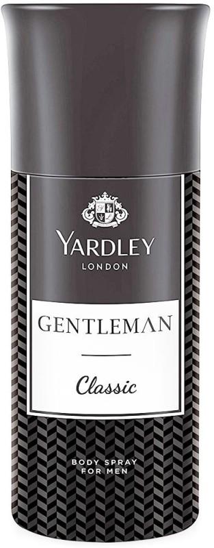 Yardley Gentleman Classic Perfume Body Spray - For Men(150 ml)