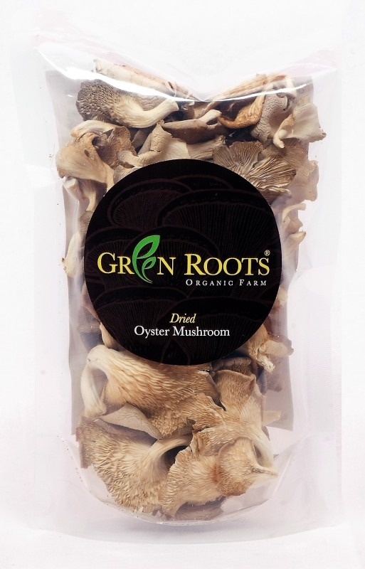GreenRoots Dried Oyster Mushrooms 50 g