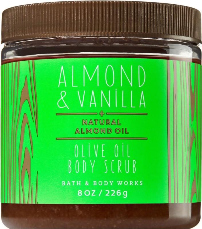 Bath & Body Works Almond & Vanilla Scrub(226 g)