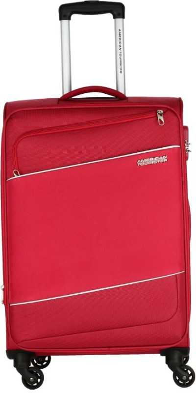 American Tourister Amt Timor Spinner Expandable Cabin Luggage - 22(Red)