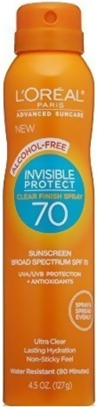 LOreal Invisible Protect - SPF 70(127 g)