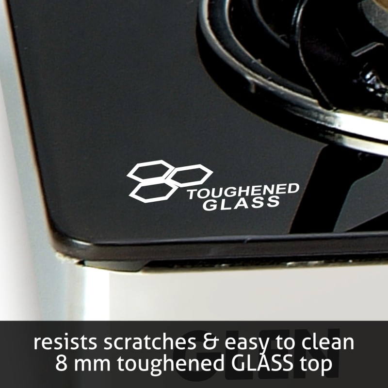 GLEN Glass Manual Gas Stove(4 Burners)