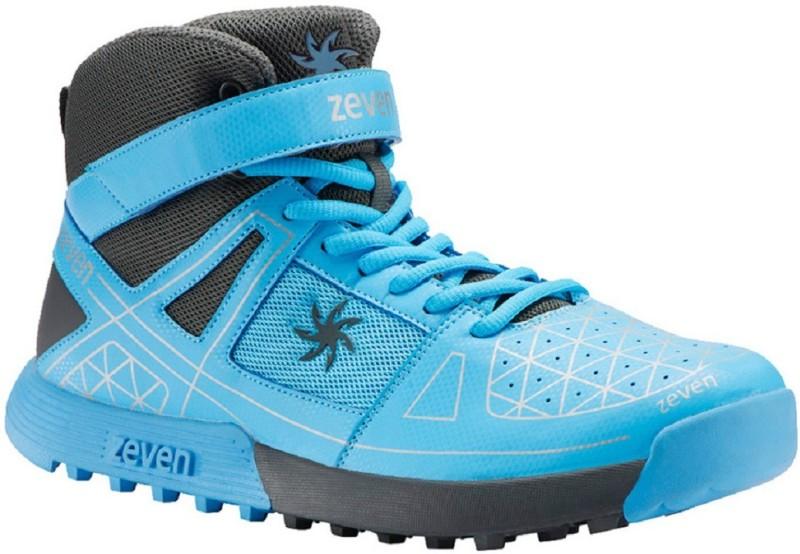 Zeven Cricket Shoes For Men(Blue)