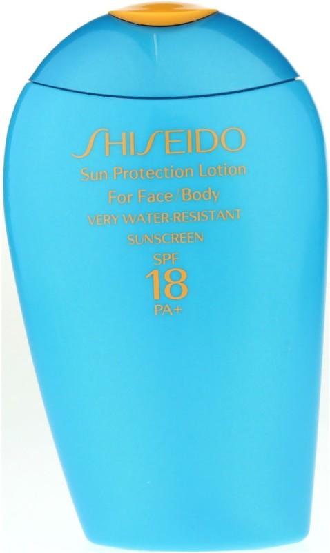 Shiseido Sun Protection Lotion - SPF 18(150 ml)