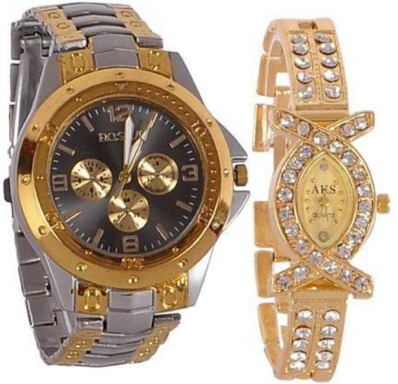 Bright Arts NEW STYLISH COUPLE Rosra NR0256 Watch Watch - For Couple