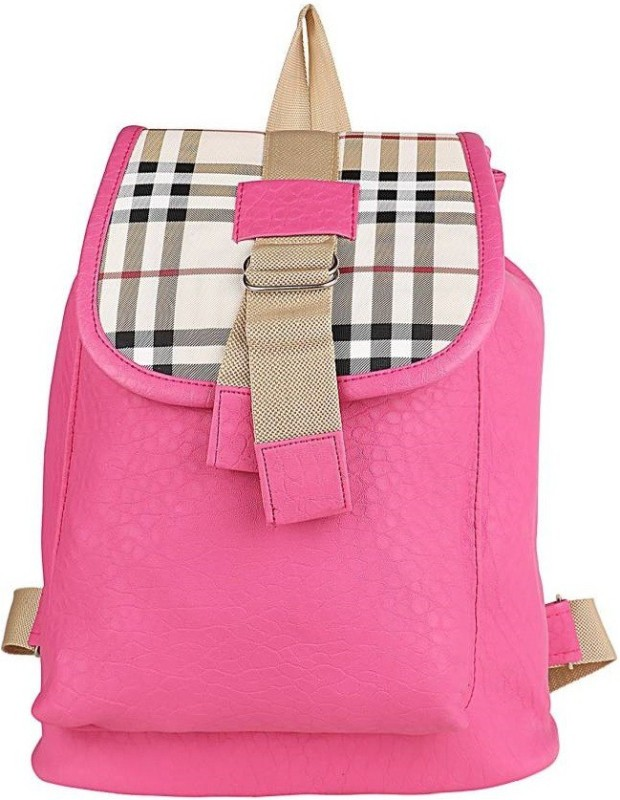 Radhe Collection Radhe College backpack Backpack(Pink, 10 L)