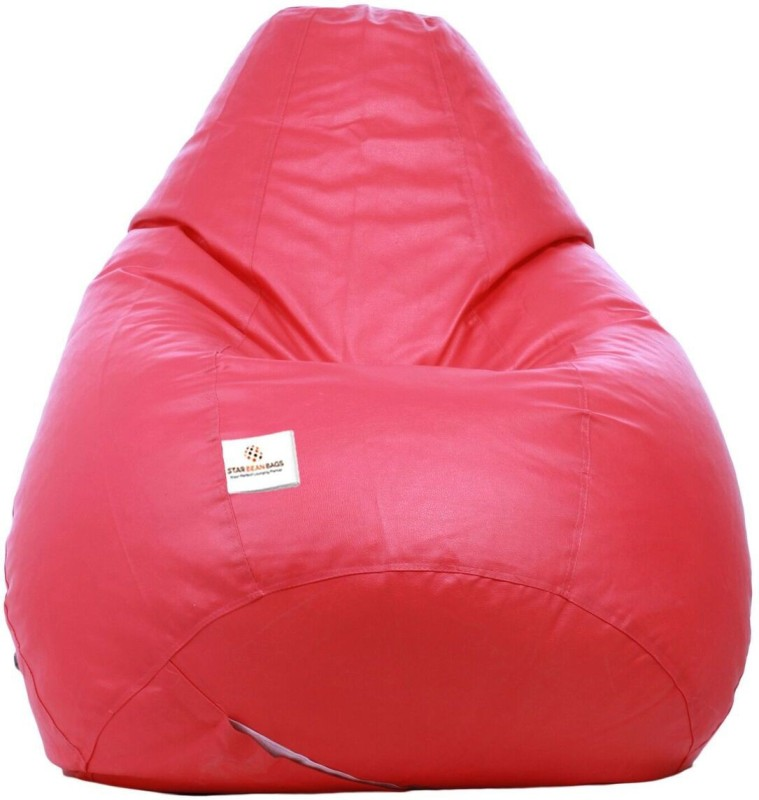 Star XXXL Bean Bag Cover (Without Beans)(Pink)