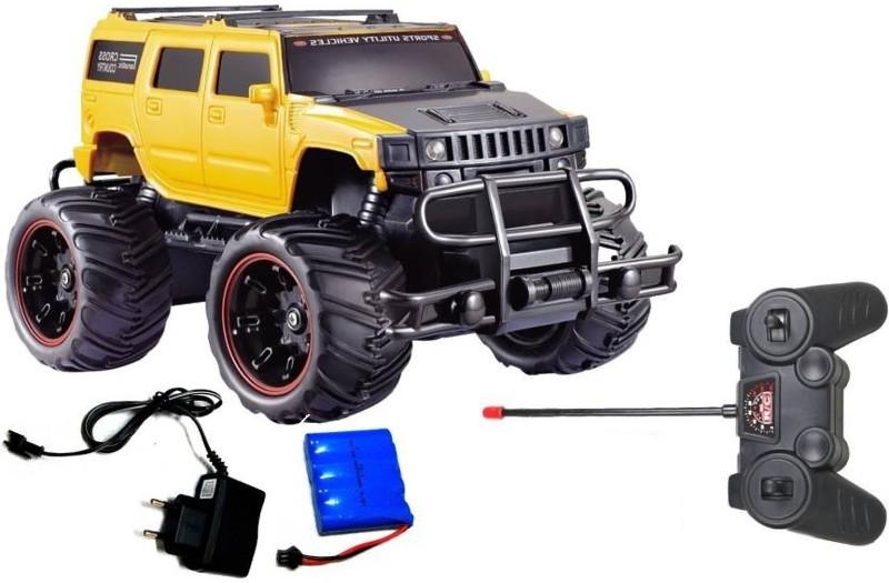 Zombi Yellow And Black Mad Racing Car(Yellow)