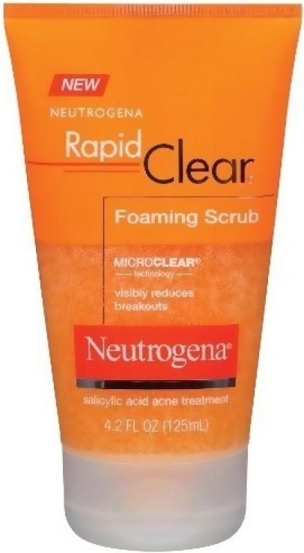 Neutrogena Rapid Clear Foaming Scrub(125 ml)